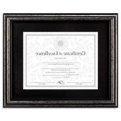 ** Document Frame, Desk/Wall, Wood, 11 x 14, Antique Charcoa