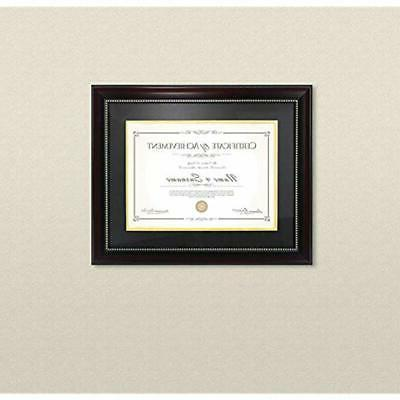 - Frames Diploma That 8.5x11 With Mat And Red