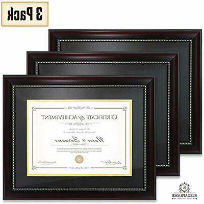 document frames diploma 3 pack that holds