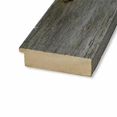 Amanti DSW4094269 Square Beveled Wood Accent - Grey