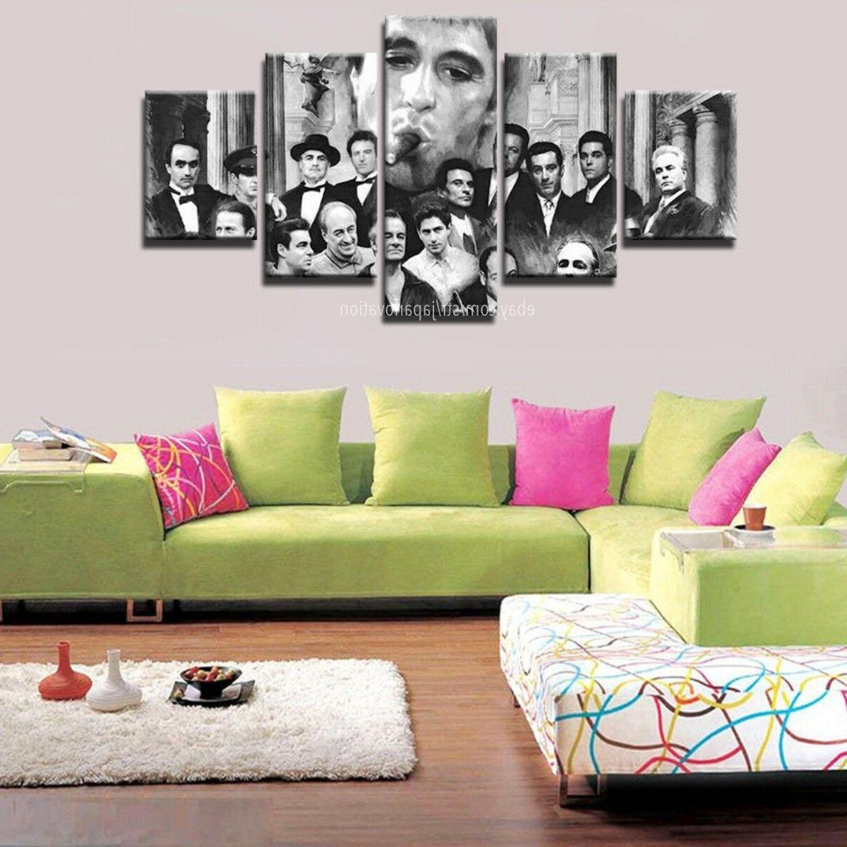Gangsters Scarface Al Painting Poster Canvas Wall
