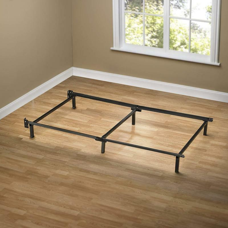 Support Bed Frame Heavy Duty 6 Leg For Box Spring And Mattre