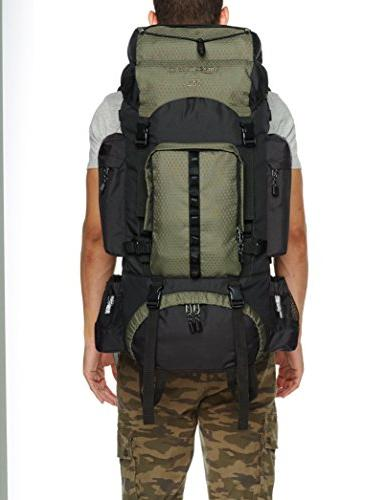 Backpack with 55 L, Green