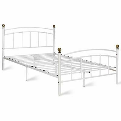 Giantex Bed Metal Slat with and Footbo...