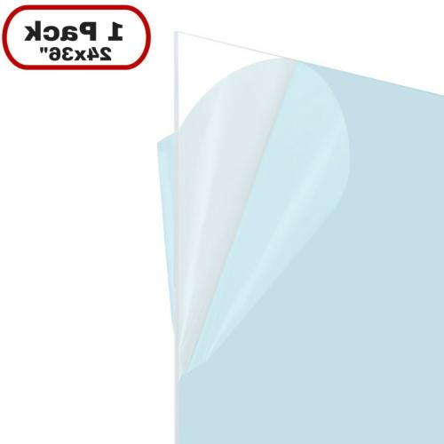 Icona Bay PET Replacement for Picture Frame Glass 24 x 36, 1