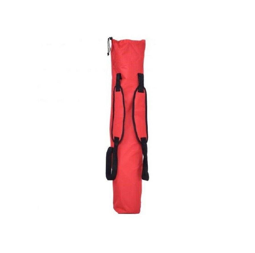 Red Folding Steel Carry Bag