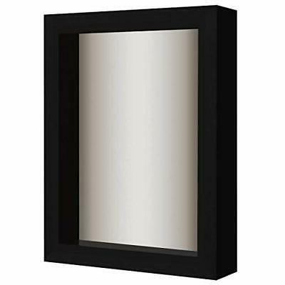 shadow box frame with soft linen back
