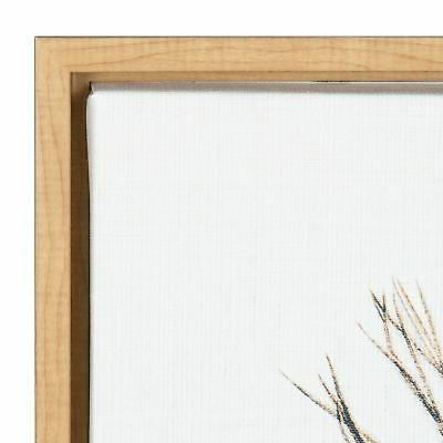 Kate Feather Framed Canvas Wall Art