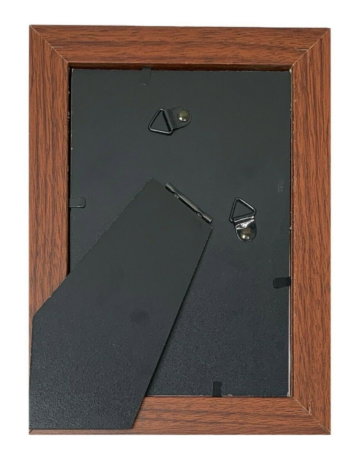 Frame Amo Brown Picture Frame or Poster Frame, Smooth Finish