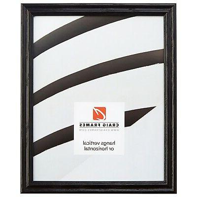 75 traditional gloss black wood picture frames