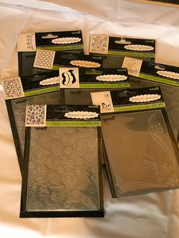 CLEARANCE/LAST CHANCE-All Brand New -Darice Embossing Folder