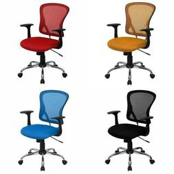 Flash Furniture Mesh Desk Chair with Chrome Base Multiple Co