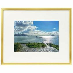 - Frametory, Metal Picture Collection, Aluminum Gold Photo W