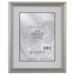 Lawrence Frames Metal Picture Frame Silver-Plate with Delica