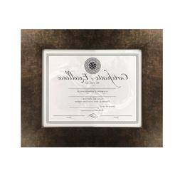 Mix Copper Modern Frame Picture Art Photo Diploma Certificat