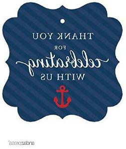 Andaz Press Nautical Baby Shower Collection, Fancy Frame Gif