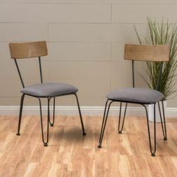 Owen Metal Frame Chairs with Cushion