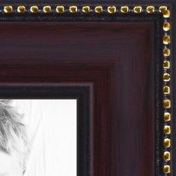 "ArtToFrames Picture Frame Custom 1"" Brown Mahagony Wood 4412"