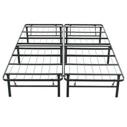 Queen Size Heavy Duty Metal Platform Bed Frame Easy to assem