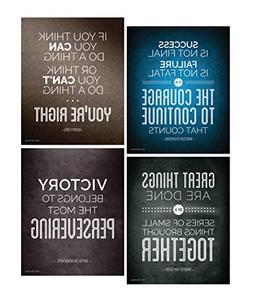 Quotes Motivational Inspirational Happiness Decorative Poste