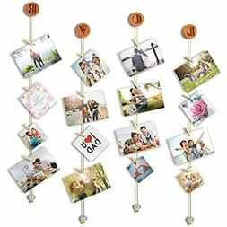 - Sculptural Frames & Holders Love Hanging Photo Display Pic