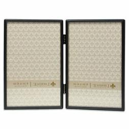 Lawrence Frames Simply Black Double Hinged 4 x 6 Picture Fra