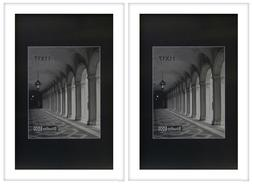 STUDIO 500 VALUE 2-PACK~11x17-inch Smooth White Wide Contemp