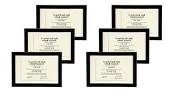STUDIO 500 VALUE 6-PACK~11x17-inch Smooth Black Wide Contemp