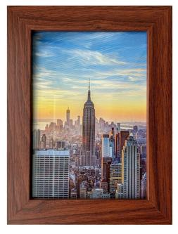 walnut brown picture frame or poster frame