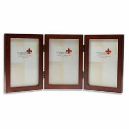 Lawrence Frames Wood Triple Hinged Picture Frame